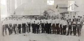 Photo of Antigo Fire Fighters 1885
