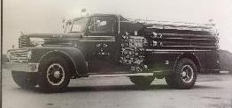 Photo of new Howe Defender fire truck 1959