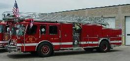 Photo of 75' E-One Quint Aerial Truck 1992